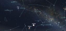 Jupiter/Saturn/Mars Conjunction